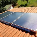 Un nostro Impianto Solare Termico in funzione
