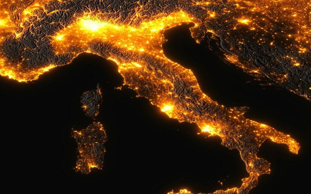 Energia Italia dipendente dall'estero ma crescono le fonti rinnovabili