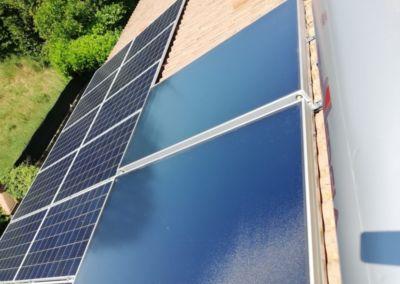 fotovoltaico piu solare termico